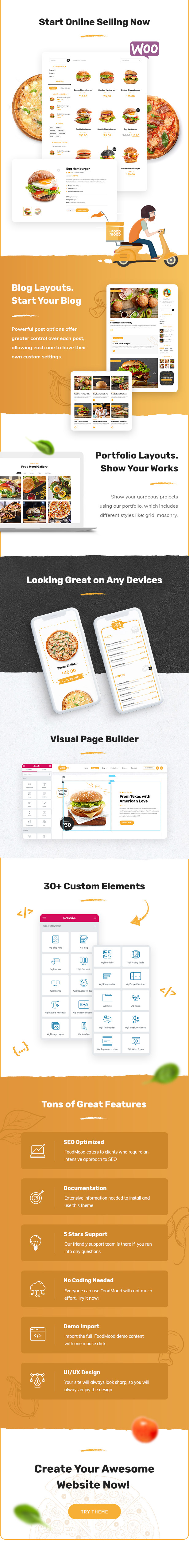 Foodmood - Cafe & Delivery WordPress Theme - 2